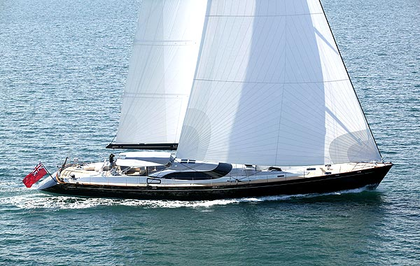Sailing Yacht Moonbird (ex 'Midnight')